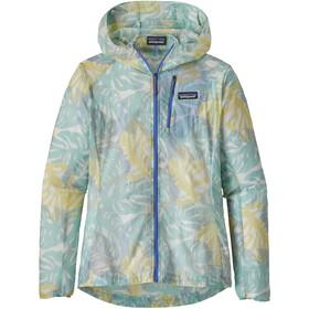 Patagonia W's Houdini Jacket Tarkine Fern/Atoll Blue